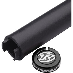 Reverse Seismic Ergo Cykelhåndtag 145mm, black/black